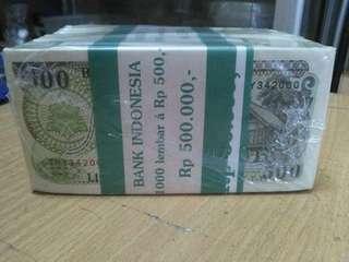Uang lama 500 otan 1brod