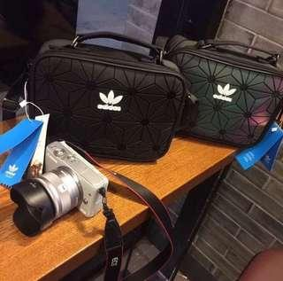 FREE POSTAGE + FREE GIFT!! Adidas 3D Sling Bag | TRIPLE BLACK | RECOMMENDED SELLER