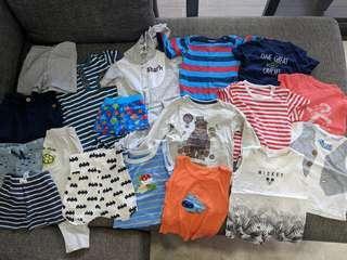 80+ pcs Baby Boy Clothes Bundle