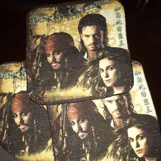 Pirates Of The Carribean Towels SET OF 3