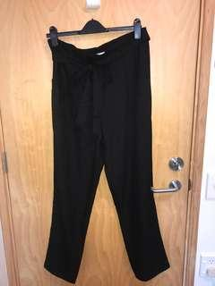Showpo black pants s16