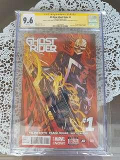 All New Ghost Rider 1 CGC SS 9.6 x2