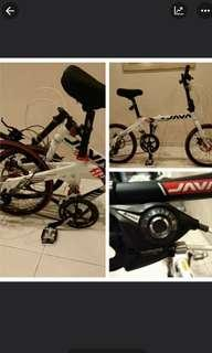Foldable Shimano Java Fit 16 Speed