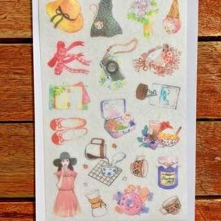 Coffee Time Sticker Sheet (F)