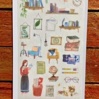 Coffee Tine Sticker Sheet (D)
