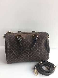 Louis Vuitton Mini Lin Speedy Bandouliere 30