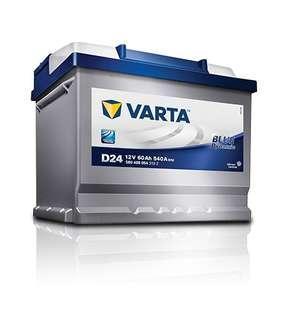 VARTA Car Battery DIN66 for Volkswagen Passat B7