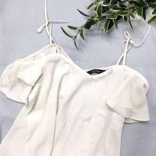 Glassons top - white