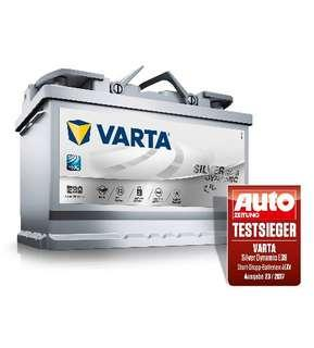 VARTA AGM Car Battery LN3 DIN70 Silver Dynamic Maintenance Free