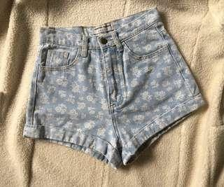 Authentic american apparel highwaisted short