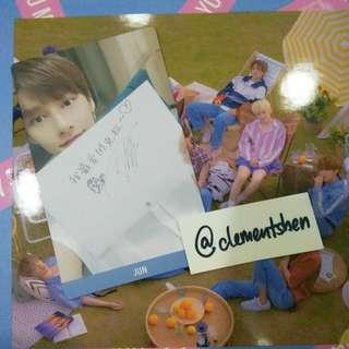 Seventeen Jun You Make My Day YMMD Taiwan Limited Edition Photocard