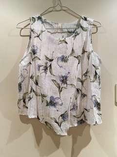 花花背心 floral top sexy