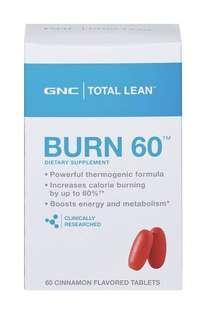 GNC BURN 60 燒脂60 60粒 代購 有單