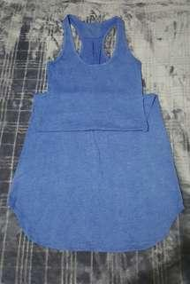 Blue Racerback Dress