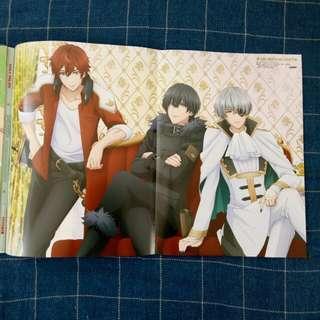 Poster Yume Oukoku to Nemureru 100-nin no Ouji-sama - Prince Navi - Gary - Gilbert