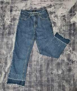 HW 2Toned Pants