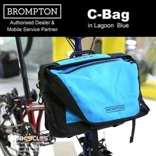 BROMPTON C-Bag in Lagoon Blue