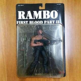 第一滴血 First Blood Rambo Figure