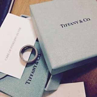 Tiffany & Co Mesh Ring Size 5