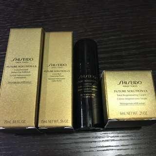 Shiseido 旅行裝一套 全新正牌