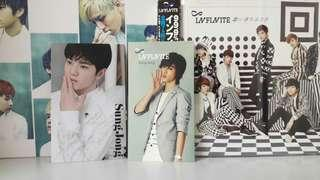 [OFFICIAL!!] Infinite japanese single + photocard