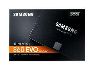 Samsung 860 evo 500gb SATA 6gb/s SSD V-NAND solid state drive hdd hard disk for desktop laptop computer
