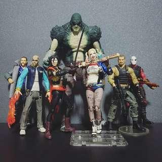 DC Multiverse Suicide Squad set
