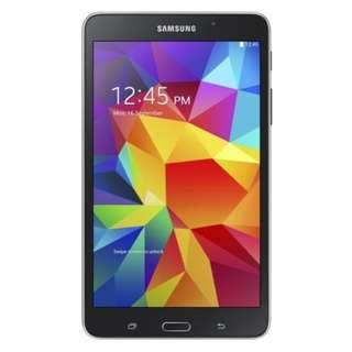 Samsung Galaxy Tab 4 7.0 Black Leather Back