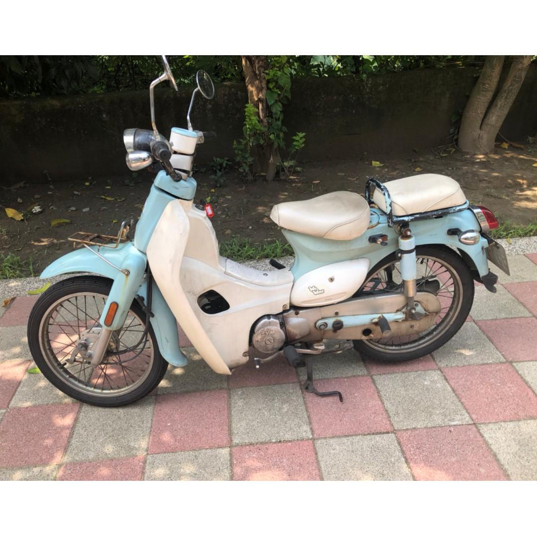 2007年 三陽 wowow100 金旺 娃娃 100cc 化油 圓燈 可愛復古小檔車 新北 中和 分期
