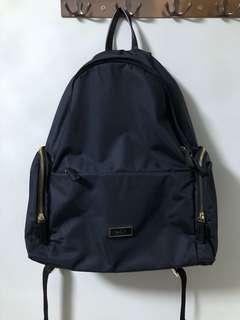 Authentic Agnes B Black Backpack