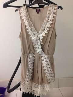 Size small play suit