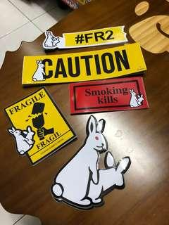 🐇 FR2 Sticker F2 5pcs1set