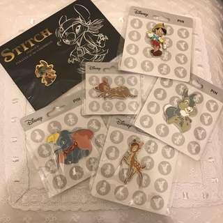 迪士尼襟章 Disney pin pins
