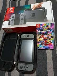 Nintendo Switch bundle with game ( with local warranty)