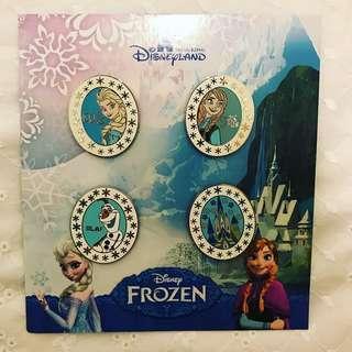 迪士尼襟章 Disney pins pin Elsa