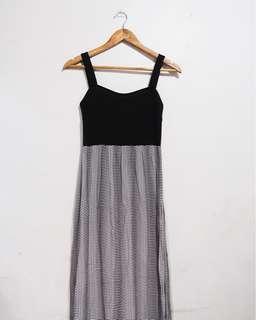 Cotton On stripes maxi dress