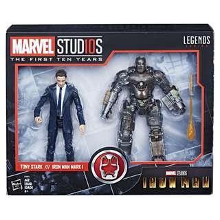 Marvel Studios First Ten Years Tony Stark Iron Man Mark I