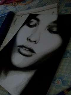 Charcoal artwork