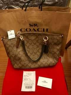 Brandnew Coach kelsey tote Bag authentic