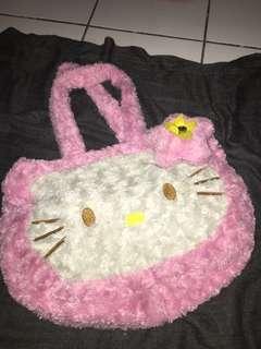 preloved tas hello kitty untuk anak/bayi