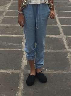 joggerpants biru H&M