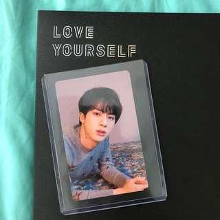 love yourself jin pc
