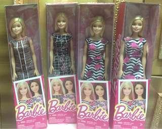 Barbie Dolls with dress and shoes