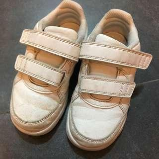 Baby Shoes adidas 白色 運動鞋 返學 幼稚園 EU26.5 boy shoes sports 正版 real