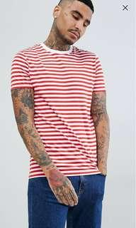 ASOS DESIGN Stripe T-shirt