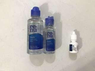60ml Travel size Renu Contact Lens Solution
