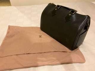 Louis Vuitton Speedy 25 black