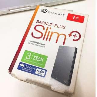 Seagate Backup Plus Slim HD 1TB