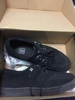 Authentic T.U.K Black Suede