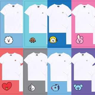 OFFICIAL BT21xHUNT Inner Shirts